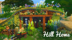 hobbit hill house the sims 4 build youtube
