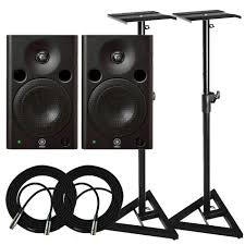 home theater yamaha yamaha msp5 monitors u0026 stands package frontendaudio com