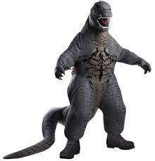 Halloween Monster Costumes by Godzilla Blowup Child Costume Movie Rubies 884740 Gorilla Monster
