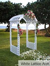 wedding archway hawaiian island weddings special services
