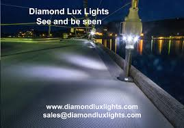 diamond lux lights marine led lights for yachts with solar power