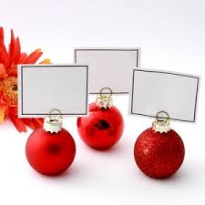 christmas place card holders best place 2017