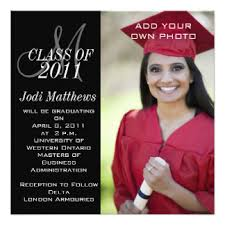 photo graduation invitations announcements zazzle