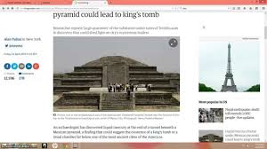 mercury under pyramid at teotihuacan youtube