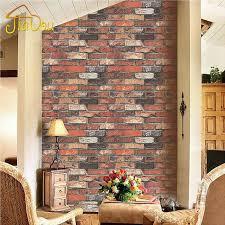 nature vintage three dimensional red brick stone texture vinyl