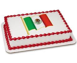 Mecican Flag Mexican Flag Photocake Cake Cakes Com
