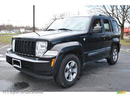 black jeep liberty 2008 jeep liberty sport 4x4 in brilliant black crystal pearl