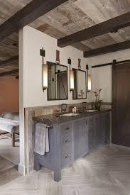 Rustic Modern Bathroom Tahoe Retreat Rustic Bathroom San Francisco By Artistic