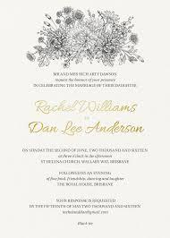 black and white wedding invitations wedding invites
