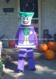 Lego Brick Halloween Costume Coolest Lego Joker Costume Joker Costume Joker Lego