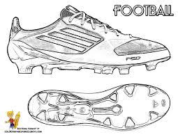 football pictures color shoe templates printables