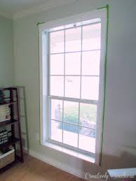 how to install window casing