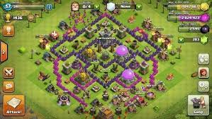 layout coc town hall level 7 what is the best clash of clans hybrid base for a town hall level 7