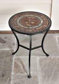 Mosaic Accent Table Charleston Gardens Hostek