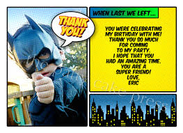 batman thank you cards disneyforever hd invitation card portal
