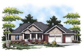 plan 89262ah ranch home plan with lovely porch ranch porch and