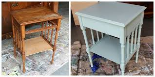 Painted Bedroom Furniture Before And After by How To Antique Furniture And Painted Furniture Tutorial