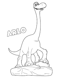printable the good dinosaur coloring pages kids coloring pages