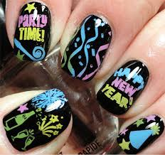 15 happy new year eve nail art designs ideas trends u0026 stickers