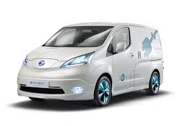 van toyota nissan e nv200 electric van to enter production next year