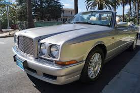 bentley azure for sale 1999 bentley azure parchment with blue piping stock 723 for sale
