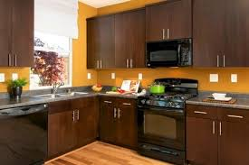black cabinets with black appliances black appliances kitchen kitchen color ideas with oak cabinets and