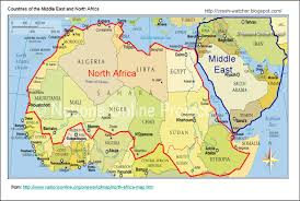 Map Of Southwest Asia And North Africa by Southwest Asia And North Africa Map Throughout Roundtripticket Me