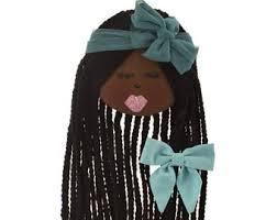 african american cheer hair bows african american dolls etsy