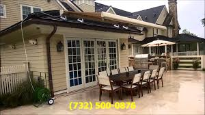 Awnings South Jersey Roof Mounted G150 Retractable Awning In Spring Lake Nj 07762
