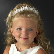 communion headpieces flowergirl or communion headpiece hpc 9163 white