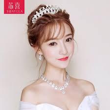 hair ornaments usd 15 17 su xi bridal headdress set japanese korean wedding hair