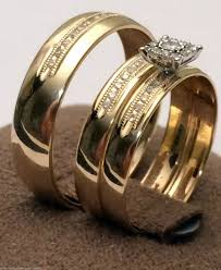 cheap wedding sets for him and picture of cheap wedding rings sets for him and