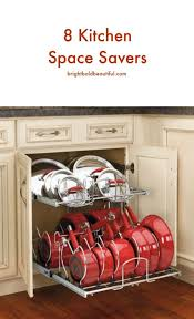 Kitchen Cabinet Space Saver Ideas 36 Inspired Ideas For Space Saving Kitchen Storage Mobile Home