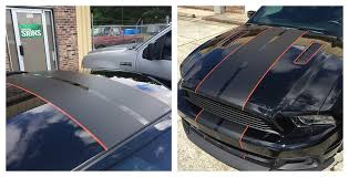 Black Mustang With Green Stripes 2014 Ford Mustang Gt Race 3m 1080 Matte Black Race Stripes