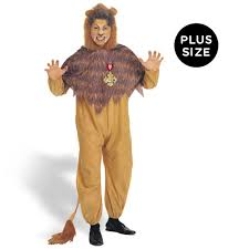 lion costume the wizard of oz cowardly lion plus costume buycostumes