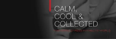 calm cool collected how to manage stress infographic uptime energy