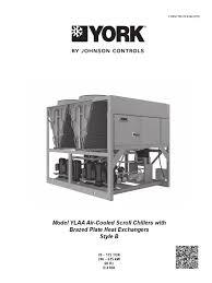 chiller ylaa york heat exchanger electrical wiring