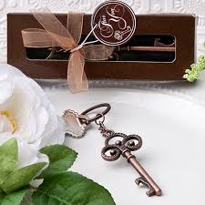 keychain favors vintage bronze skeleton key keychain favors