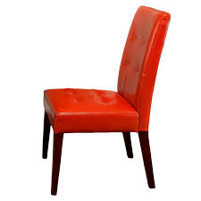 Orange Dining Room Chairs Amazon Com Best Selling Burnt Orange Tufted Dining Chair 2 Pack