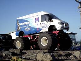 ford transit off road monster transit van big jen the monster ford transit van u2026 flickr
