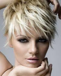 trendy short hair trends edgy haircuts for wavy hair pictures