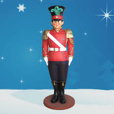 Metal Toy Soldiers Christmas Decorations by Giant Toy Soldiers Fiberglass Christmasnightinc Com