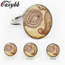flower tattoo ring buy flower band tattoo and get free shipping on aliexpress com