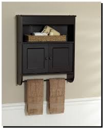 Bathroom Wall Cabinet With Towel Bar Likeable Bathroom Wall Cabinets With Towel Bar Bathroom Best