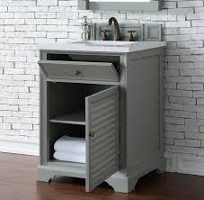abstron 26 inch grey finish single sink bathroom vanity