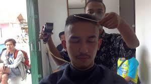 my flattop haircut 2 july 2016 cepak militer kotak youtube