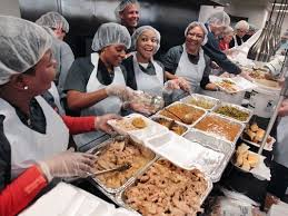 groups invite the hungry for thanksgiving day dinner