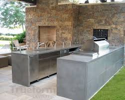 outdoor concrete countertop trueform decor