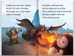 train dragon incredible movie inspired book