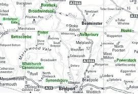 Dorset England Map by Execution Of Elizabeth Martha Clarke At Dorchester Dorset Hanged